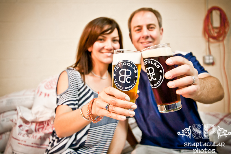 peticolas brewing company family portrait session dallas, tx