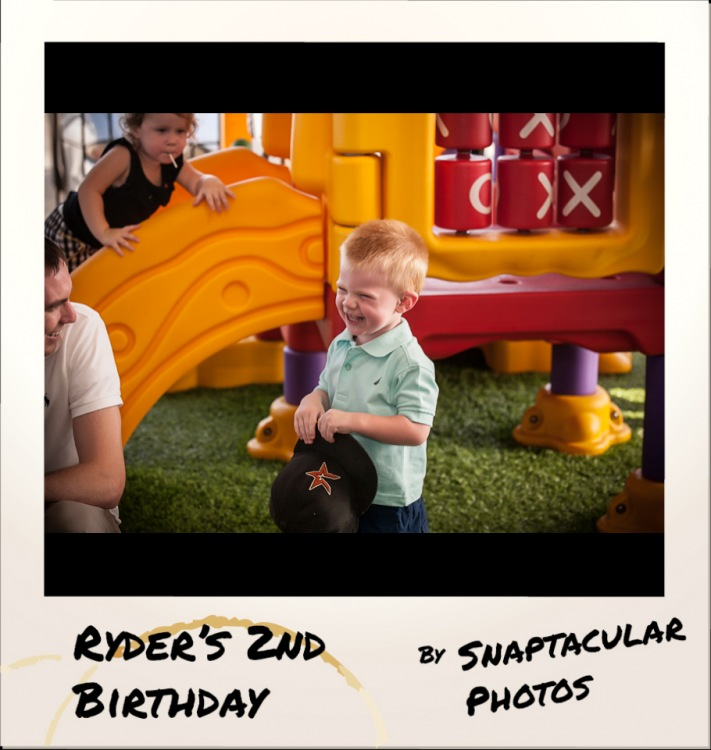 Ryder S 2nd Birthday Party All Stars Family Grill