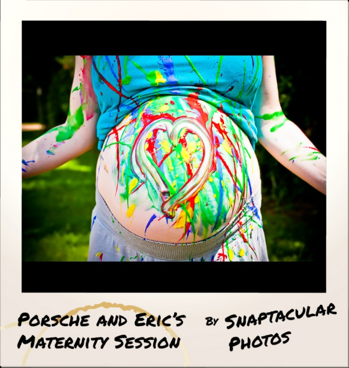 fun maternity photos houston, houston baby photographer, spring maternity photographer, houston maternity photos, fun maternity session in spring, porsche and eric paint splatter painted belly pregnancy photos maternity photographer spring, tx